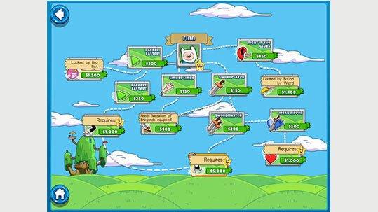 Bloons Adventure Time Kalandra Fel Appok Cartoon